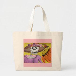 Miss Dia de los Muertos tote bag
