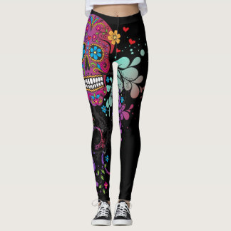 Miss Eve - Girlie Skull Leggings