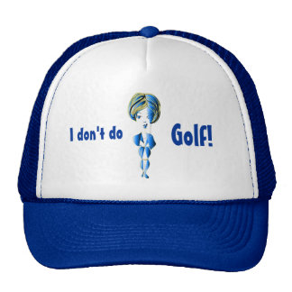 Miss-fit Blue Bling Girl Digital Art Cap