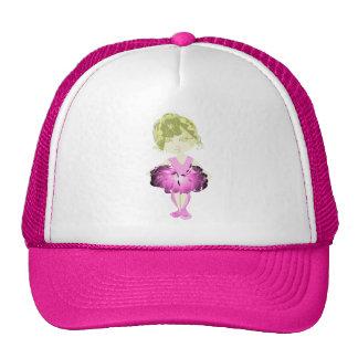 Miss-fit Pink Ballet Dancer Girl Hats