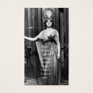 Miss Gladys Cooper [1888-1971] in Fancy Dress Business Card
