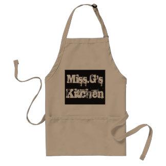 Miss. G's Kitchen Apron
