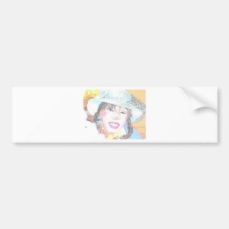 Miss Halley Luyah Luv! Bumper Sticker