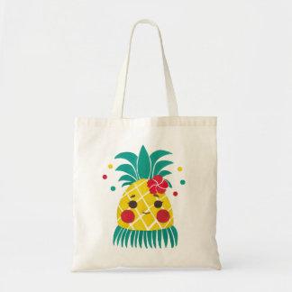 Miss Hawaiian Pineapple Budget Tote Bag