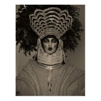 Miss Hryggur portraiture postcard