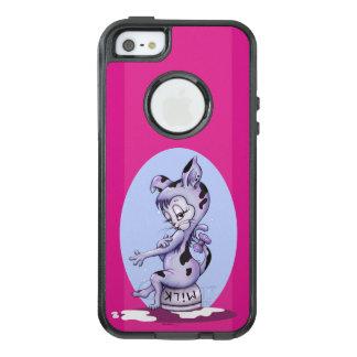 MISS KITTY CARTOON  Apple iPhone SE/5/5s  CS BLACK