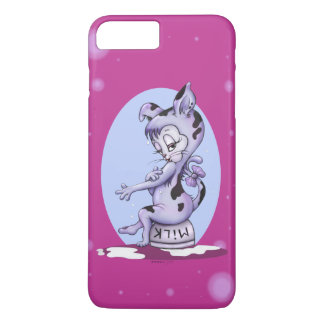 MISS KITTY CAT CARTOON  Apple iPhone 7  PLUS BT iPhone 8 Plus/7 Plus Case