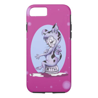MISS KITTY CAT CARTOON  Apple iPhone 7  Tough iPhone 8/7 Case
