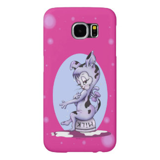 MISS KITTY CAT CARTOON Samsung Galaxy S6 BARELY T Samsung Galaxy S6 Cases
