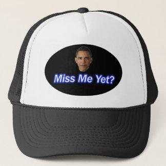 MISS ME YET? PRESIDENT BARACK OBAMA TRUCKER HAT