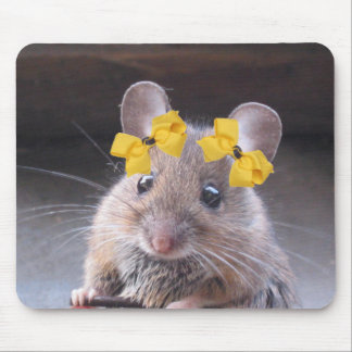 Miss Mousie Pad Mouse Pad