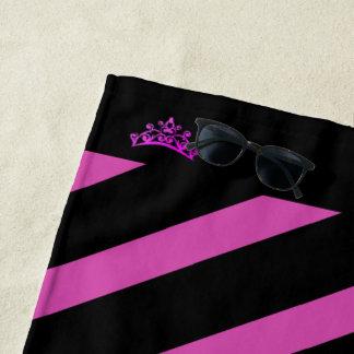 Miss Mrs. America USA Rodeo Crown Beach Towel