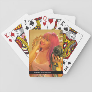 MISS MUSIC- BABYDOLL PLAYING CARDS