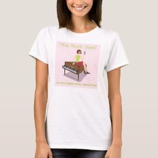 Miss Music Nerd Shirt