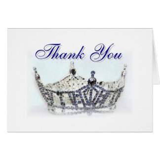 Miss Oregon Thank You Card