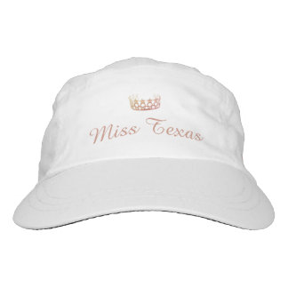 Miss Peach Rose Quartz Crown Baseball Cap