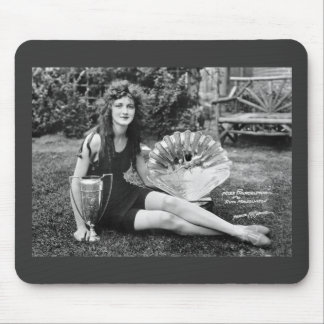 Miss Philadelphia, early 1900s Mouse Pad