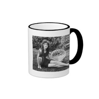Miss Philadelphia, early 1900s Coffee Mug