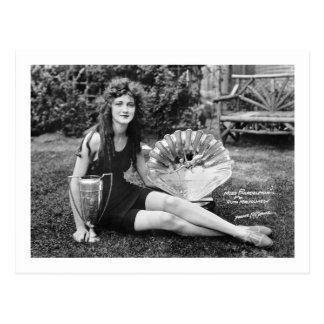 Miss Philadelphia, early 1900s Postcard