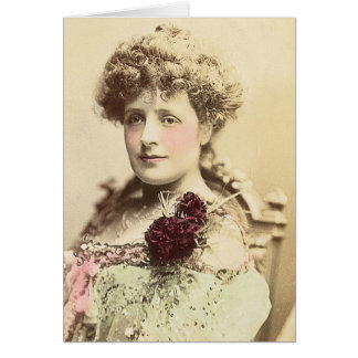Miss Phyllis Broughton Card
