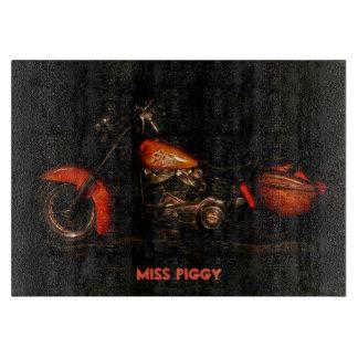 Miss Piggy Cutting Board