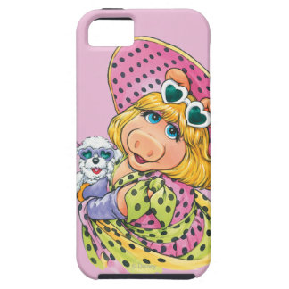 Miss Piggy Holding Puppy iPhone 5 Covers