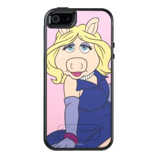 Miss Piggy in Purple Dress OtterBox iPhone 5/5s/SE Case