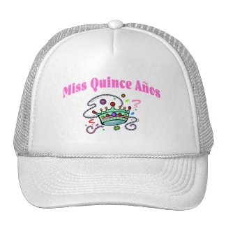 Miss Quince Anos Hat