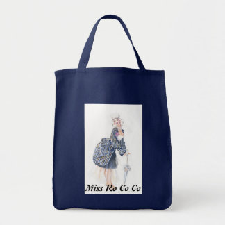 Miss Ro co co Grocery Tote Bag