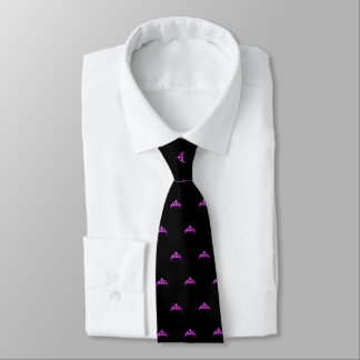 Miss Rodeo America USA Fuchsia Crown Men's Tie