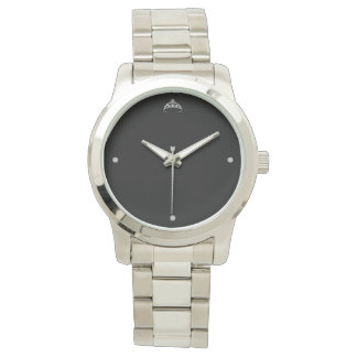 Miss Rodeo Women's Silver Crown Bracelet Watch