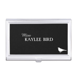 Miss Simple Business Card Holder