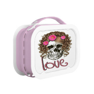 Miss Skull Lunch Box
