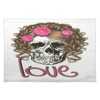 Miss Skull Placemat