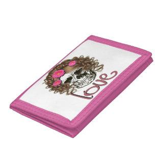 Miss Skull Tri-fold Wallet
