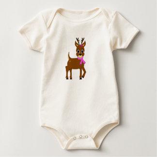 Miss Sparkle Organic Baby Bodysuit