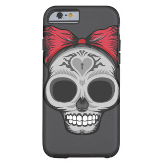 Miss Sugar Skull - Halloween Sale Tough iPhone 6 Case
