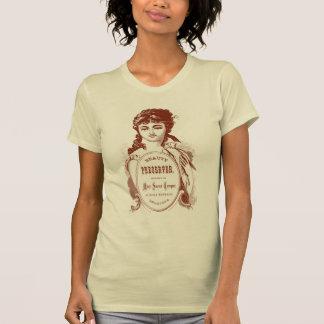Miss Sweet Temperment Victorian Design T-shirt