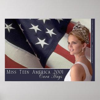 Miss Teen America 2001 Poster
