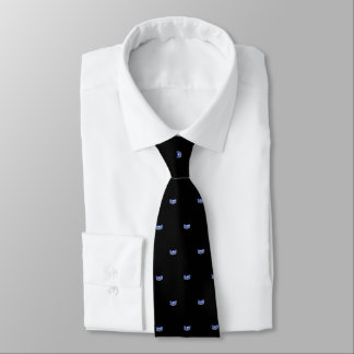 Miss USA Blue Star Crown Men's Tie