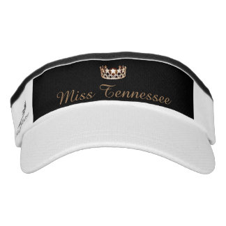 Miss USA Gold Crown Visor  Hat
