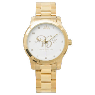 Miss USA Gold Crown Watch