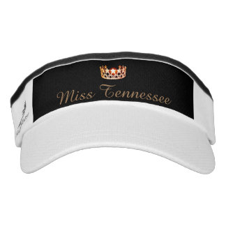 Miss USA Orange Crown Visor  Hat