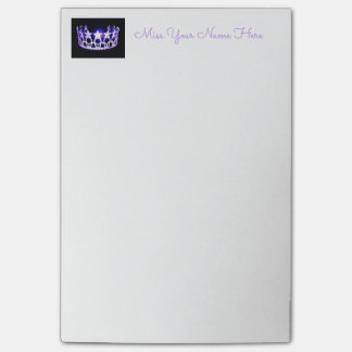 Miss USA Purple Crown Post-it-Notes Post-it Notes