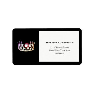 Miss USA Silver Crown Address Labels