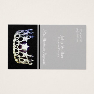 Miss USA Silver Crown Business Cards