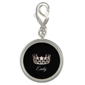Miss USA Silver Crown SP Charm-Custom Name