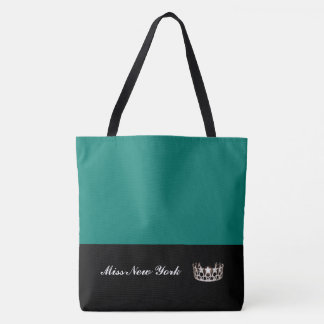 Miss USA Silver Crown Tote Bag-Large Bahama