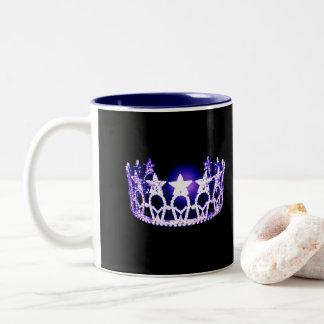 Miss USA style Purple Crown Mug