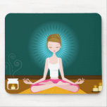 Miss Yoga Mousepad